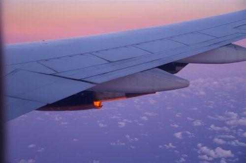 Sunrise at 10,000 feet